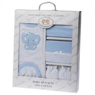 Caja de nacimiento de 4 piezas ELEFANTE - Ver los detalles del producto