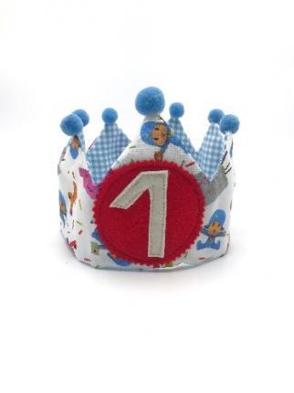 Corona CUMPLE HECHA A MANO - Ver los detalles del producto