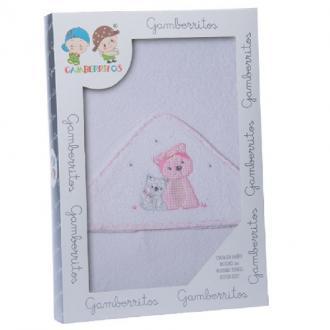 Capa de baño perritos flores - Ver los detalles del producto